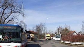Řidič autobusu zkolaboval na Rohožníku.