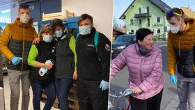 Dobrovolníci v Litovli budou roznášet i jídlo