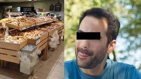Muž vyhrožoval na sociálních sítích, že je nakažený koronavirem a šíří to v supermarketech. (Ilustrační foto)