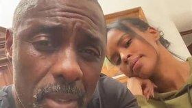 Idris Elba informuje fanoušky o svém stavu.