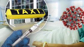 Nakažený taxikář dostane experimentální lék. (ilustrační foto)
