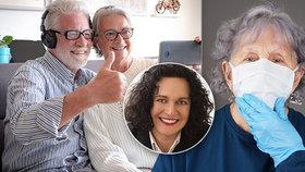 Pomozte seniorům zmírnit jejich obavy.