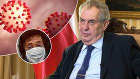 Prezident Miloš Zeman ve svém projevu k národu mluvil o panice kolem koronaviru  i seniorech.