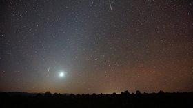 Takto vypadá zvířetníkové světlo s Venuší, astronomický úkaz oblíbený mezi fotografy.