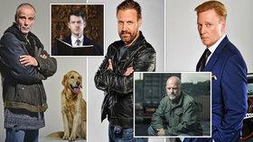 10 nejcharismatičtějších herců našeho šoubyznysu