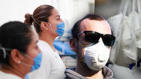Lékařský personál v České republice trápí nedostatek zdravotních pomůcek pro boj s koronavirem. Respirátory si doktoři, sestry a záchranáři nezřídka musí shánět sami po vlastní ose.