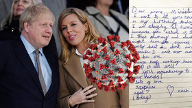 Britského premiéra Johnsona dojal dopis od sedmileté Josephine.