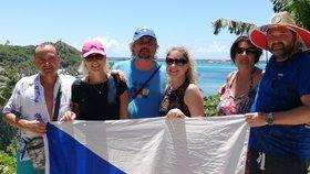 Skupinka Čechů na Tahiti prosí o pomoc, kvůli koronaviruové krizi mají velké problémy s návratem domů.