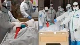 103letá Číňanka drží rekord: přežila nemoc jako nejstarší.