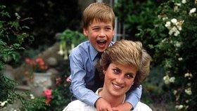 Princezna Diana uměla být tváří charit, William a Harry si z ní berou příklad.