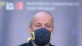 Tisková konference o systému mapování nákazy v Česku (24. 3. 2020)