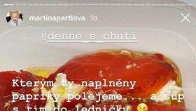 Martina a její papriky