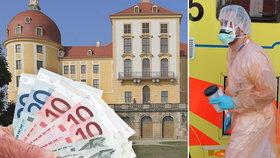 Sasko hodlá Čechům platit 40 eur denně. Potřebuje si udržet zdravotníky.