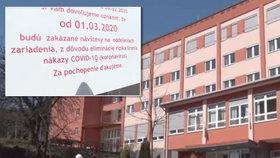 Domov důchodců je v karanténě: V ohrožení koronavirem je 45 ošetřovatelů.