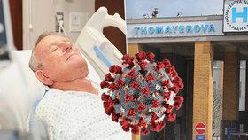 V Thomayerově nemocnici v Praze 4 zemřel muž, který byl nakažený koronavirem. (ilustrační foto)