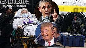 Koronavirus v USA už zabil tisíc lidí, nejhůř je na tom New York. Na Trumpa se snáší kritika ze všech stran.