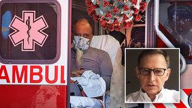 """Lékař, který pomáhal s natáčením filmu """"Nákaza"""" o smrtícím viru, dostal koronavirus."""