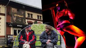 Prostitutky mohou v Showparku nahradit bezdomovci. Magistrát jim tady chce zařídit karanténu.