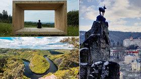 5 nejkrásnějších vyhlídek vČR: To jsou panoramata!