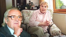 Andula Sováková o svém muži: Rád chodil v pyžamu a miloval zmrzlinu.