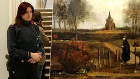 Zloději ukradli obraz van Gogha: Policie po nich pátrá!