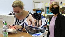 Podle amerického vědce je Česko v nošení a výrobě roušek pozitivním příkladem