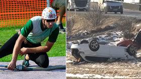 Hasiče Tomáše zabil opilý řidič: Doma na něj čekala sedmiměsíční dcerka Amálka