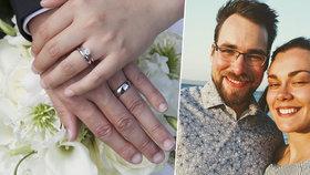 David a Terezie se mají brát v červenci. Zatím neví, zda se svatba uskuteční. Jiné páry už museli svatbu zrušit.