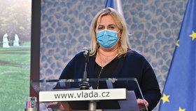 Klára Dostálová: Tiskovka po jednání vlády o dalších opatření kvůli koronaviru (1.4.2020)