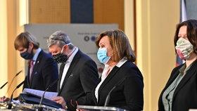 Tiskovka po jednání vlády o dalších opatřeních kvůli koronaviru (1.4.2020)
