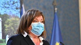 Alena Schillerová: Tiskovka po jednání vlády o dalších opatření kvůli koronaviru (1. 4. 2020)