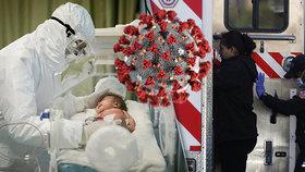 """""""Srdcervoucí smutek v USA"""": Na koronavirus zemřela šestitýdenní holčička."""