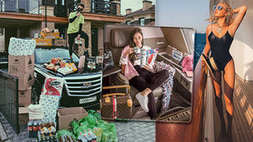 Přepychová sídla a soukromá letadla: Zlatá mládež se chlubí karanténou v luxusu.
