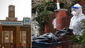 V neděli 29. března našli v Říčanech mrtvou zdravotní sestru z Thomayerovy nemocnice.
