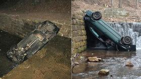 Na Trutnovsku došlo k nehodě osobního auta.