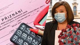 Ministryně financí Alena Schillerová (ANO) zmírnila podmínky pro získání 25 tisíc pro OSVČ postižené koronakrizí. Jak na peníze dosáhnout?