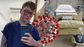 Ošetřovatel Adam (24) se při směně na JIP dozvěděl, že koronaviru podlehl jeho milovaný dědeček.