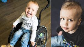Adámek trpí spinální svalovou atrofií a potřebuje neuvěřitelně drahý lék: Zatím se podařilo vybrat milion korun!
