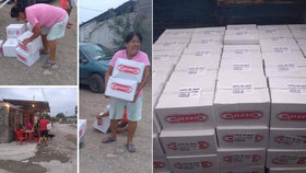 Drogové kartely v koronavirové krizi posílají Mexičanům potraviny