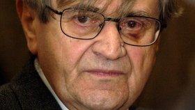 Ve věku 89 let zemřel historik Jan Křen. (na snímku z 22. ledna 2008)