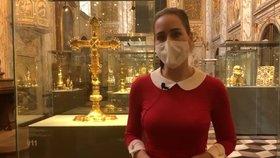 Alex Mynářová a koronavirové Velikonoce: Další video z Pražského hradu
