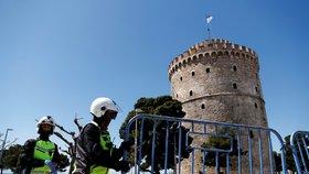 Opatření proti koronaviru na Thessaloniki