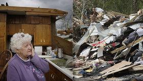 """V době tragédie musí stranou i restrikce. """"Bouře je větší nebezpečí než koronavirus."""". Po velikonočních tornádech zůstala na jihovýchodě USA spoušť a 32 mrtvých, (14.4.2020)."""