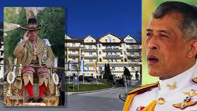 Ani tenhle jednodenní výlet poddané thajského krále nepotěšil...