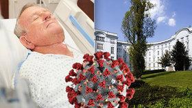 Ve VFN zemřel na covid-19 44letý muž. Lékaři zjistili, že měl muž rakovinu ledviny. (ilustrační foto)