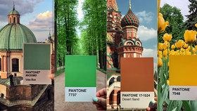 Sto odstínů světa: Fotografka pořídila úchvatné snímky díky obyčejnému vzorníku barev