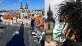 Po Praze i jiných českých městech se nyní pohybují pouze ve značně zmenšené míře místní a také usazení cizinci. Jsou zcela bez turistů.