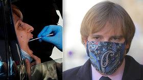 Ministr zdravotnictví Vojtěch a novinky v testování Čechů