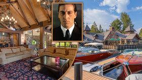 Dům mafiánské rodiny Corleonových je na prodej.