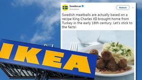 """Ikea zveřejnila recept na slavné masové kuličky: """"Bez koňského masa to není ono!"""" vtipkují lidé na sociálních sítích."""